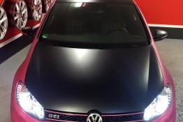 VW Golf 6 GTI Designfolierung